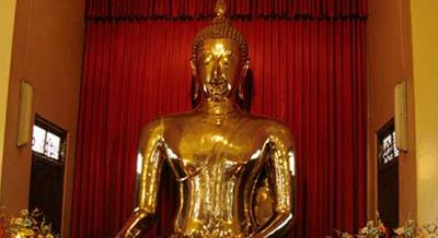 I monaci e il Budda d'oro