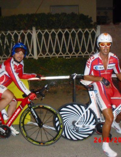 prima gara a cronometro a Livorno